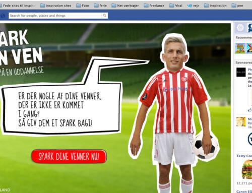 Kickstart your Friend (Spark din ven) – advert campaign for Region Nordjylland